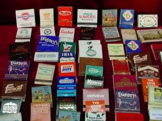 70s MATCHBOOK COVERS Matchbooks CASINOS Restaurants LAS VEGAS