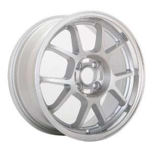 16x7 Konig Foil (Brush Silver w/ Machined Lip) Wheels/Rims