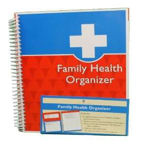 Family Health Organizer Doctor Medical Records Journal