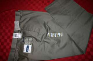 MENS DOCKERS D3 SIGNATURE KHAKI PANTS 42 X 32 NWT $55
