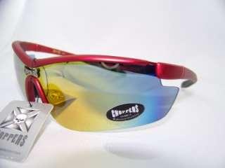 Choppers sunglasses,wrap,biker,sport,blade,item# 204 G