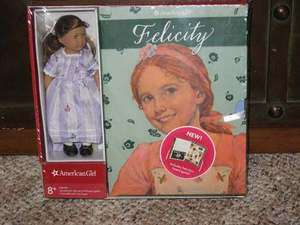 American Girl FELICITY MINI DOLL + 6 BOOK SET + GAME