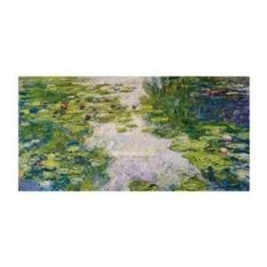 Claude Monet   Water Lilies, 1917/1919 Canvas