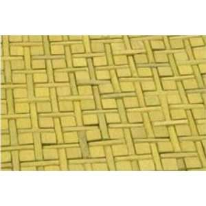 LIME GREEN WOOD AREA RUG Home & Kitchen