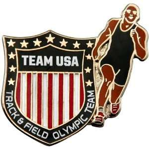 Olympics 2012 Team USA Track & Field Olympic Shield Pin