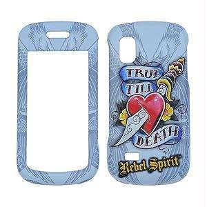 Rebel Spirit   True Till Death with rubberized finish