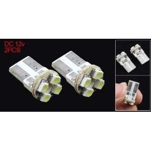 2Pcs Side Dashboard Car Auto Bulb Wedge LED Light Lamp
