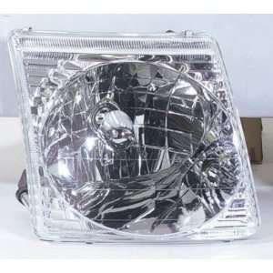 2001 03 FORD EXPLORER HEADLIGHT ASSEMBLY 2DR FITS SPORT