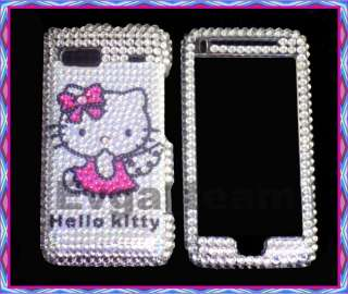 Hello kitty Bling skin Case Cover F HTC T Mobile G2 DSV