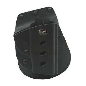Comfort & Stability E2 Roto Paddle Holster, Protective sight channel