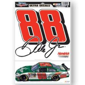 DALE EARNHARDT, JR. REMOVABLE CAR TRUCK WINDOW WALL DECAL