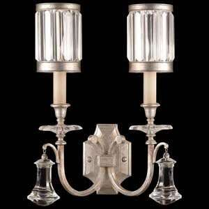 Fine Art Lamps 583050 2ST Eaton Place Silver Leaf Wall Sconce