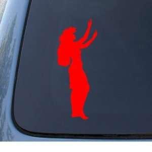 GIRL   Hawaiian Dancer   Car, Truck, Notebook, Vinyl Decal Sticker