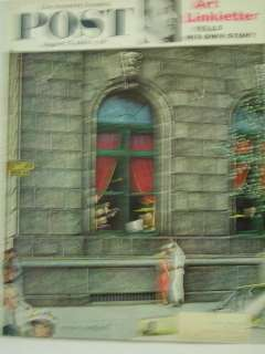 1960 Saturday Evening Post Norman Rockwell Cover August 27 Art
