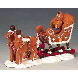 Spice Christmas Village Collection Gingersleigh #43437: Home & Kitchen