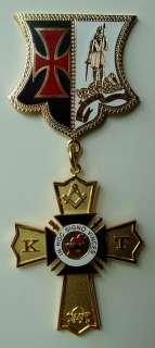 Masonic Knights Templar Past Eminent Commander Jewel
