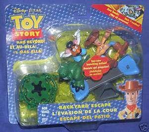 Disney Toy Story WOODY Backyard Escape Rex New Potato