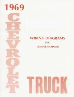 CHEVROLET 1969 Truck Wiring Diagram 69 Chevy Pick Up