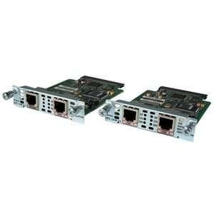 Cisco 2 Port Modem WAN Interface Card. 2PORT ANALOG MODEM