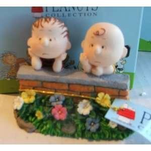 Peanuts Linus & Charlie Brown Ceramic Figures