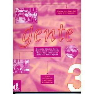 Gente 3 Workbook and Grammar Libro De Trabajo y Resumen