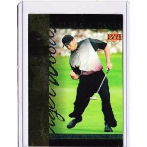 Deck Tigers Tales TT21 Tiger Woods (Golf Cards) Everything Else