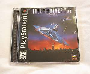 Independence Day (PlayStation PS1) Black Complete Exc 086162018220