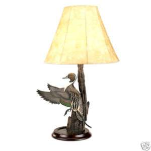 31 PINTAIL DUCK Statue Sculpture Figure LAMP Light