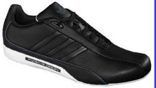 ADIDAS Originals Mens Porsche Design S2 Casual Shoes Black/White