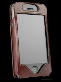 NEW SENA APPLE IPHONE 4S LEATHERSKIN LEATHER CASE