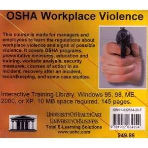 OSHA Workplace Violence (9781932634204): Daniel Farb: Books
