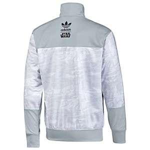 Adidas Originals Star Wars Large L Firebird Track Top Jacket Blizzard