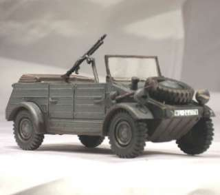 Built 1/35 German Type 82 Kubelwagen Personel Field Car WWII