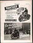 1961 HARLEY DAVIDSON SPRINT 250 CC MOTORCYCLE AD 9.5X6.