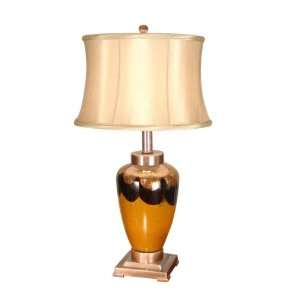 Dale Tiffany GT701147 Sonora Table Lamp, Coffee Marble