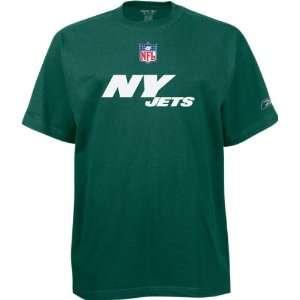 New York Jets Green Youth Wordmark T Shirt Sports