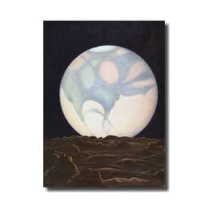 Mars Seen From Its Moon Phobos Giclee Print  Home