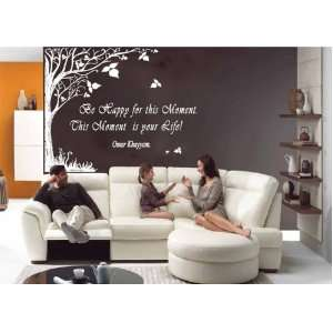 Aphorisms, Quotes, Sayings, Omar Khayyam,tree Wall Sticker