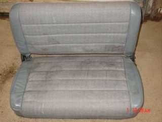 Wrangler YJ rear back seat 87 95 vinal CJ7 CJ fold and tumble flipping