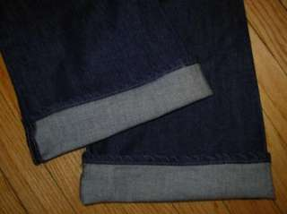 PAIGE PREMIUM DENIM *LAUREL CANYON* Jeans Embroidered Dark Wash 29 x