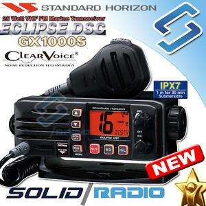 Standard Horizon GX1000S Marine VHF radio black GX 1000