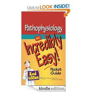 Pathophysiology An Incredibly Easy! Pocket Guide (Incredibly Easy