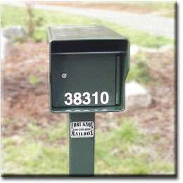 FORT KNOX LOCKING MAILBOX ~1/4 STEEL Extreme Security