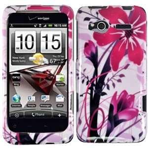 Pink Splash Hard Case Cover for HTC Radar 4G Cell Phones