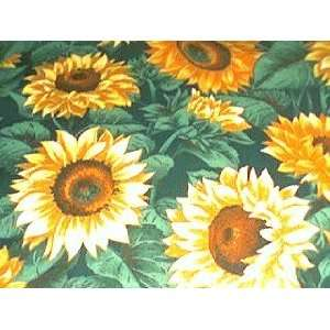 NEW TOILET SEAT LID COVER MADE FROM SUNFLOWER FABRIC