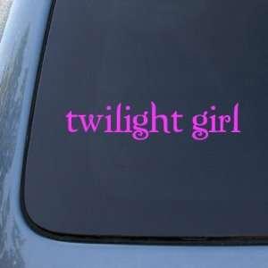 GIRL   Vinyl Car Decal Sticker #1792  Vinyl Color Pink Automotive