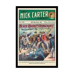 Nick Carter Black Madges Vengeance 12x18 Giclee on canvas