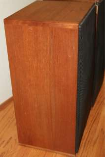 ADS L710 Vintage Bookshelf Speakers Made in U.S.A. Braun