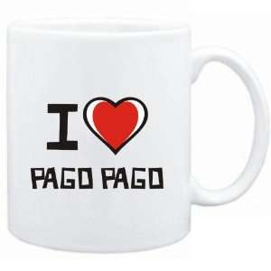 Mug White I love Pago Pago  Capitals: Sports & Outdoors