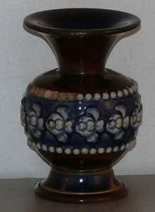 Antique Royal Doulton Stoneware Earthenware Vase